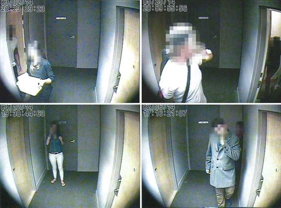 Toronto police secretly recorded these condo hallways