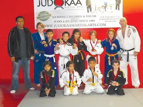 Whitby Judokaa delivers in judo and jiu jitsu