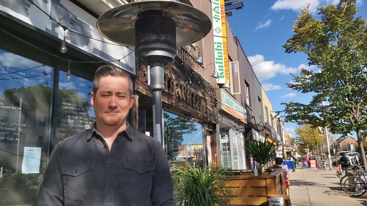 Community comes to the rescue after heaters stolen from Danforth pub  image