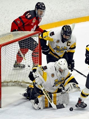 Waterloo Siskins Lose Game And Starting Goalie To Injury Therecord Com
