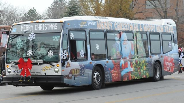 Burlington Transit reduced schedule