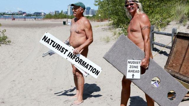 Bare all nudist