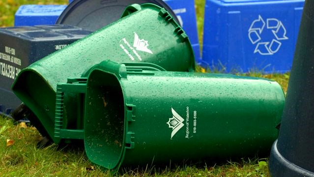 Cambridge, Kitchener And Waterloo Residents Are Green Bin