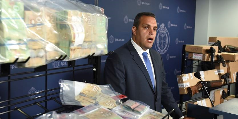 Toronto police seize 18 firearms, 208 rounds of ammo in