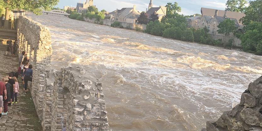 Grand River Flow >> Caution Still Being Urged Around Local Waterways As River Flows Return