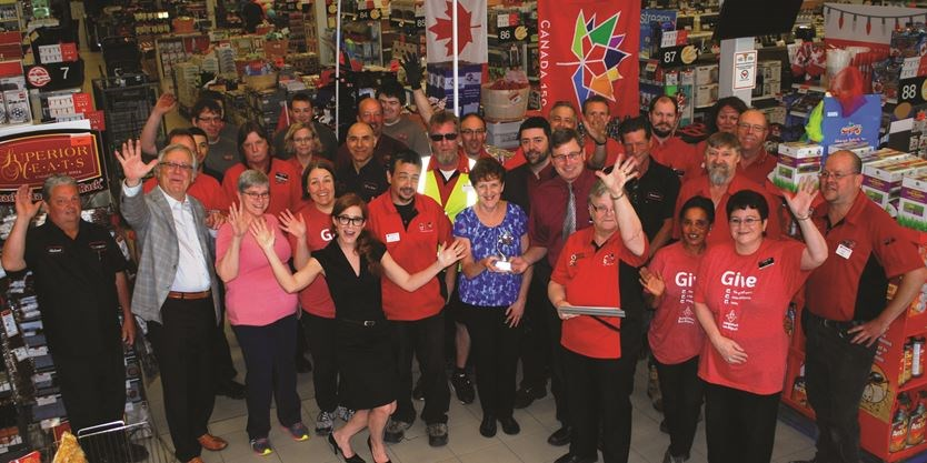 Canadian Tire Merivale: Winner for Best customer service in
