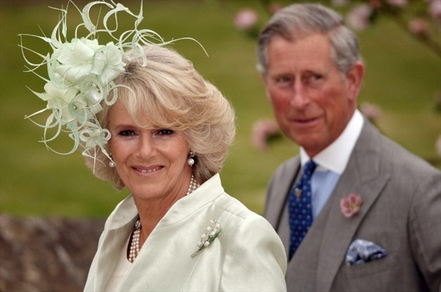 Charles Prince Of Wales And Camilla Ss Cornwall Arrive For The Wedding Laura Parker Bowles Harry Lopes At St Cyriac S Church La On May