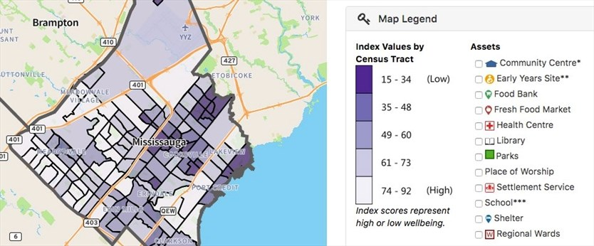 Online Tool Provides Community Stats And Well Being Rankings For Brampton And Mississauga Neighbourhoods Toronto Com