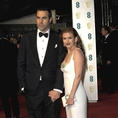 Isla Fisher And Sacha Baron Cohens Clown School Bond