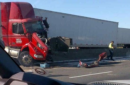 Kitchener man hurt in Hwy 401 truck crash Thursday | GuelphMercury