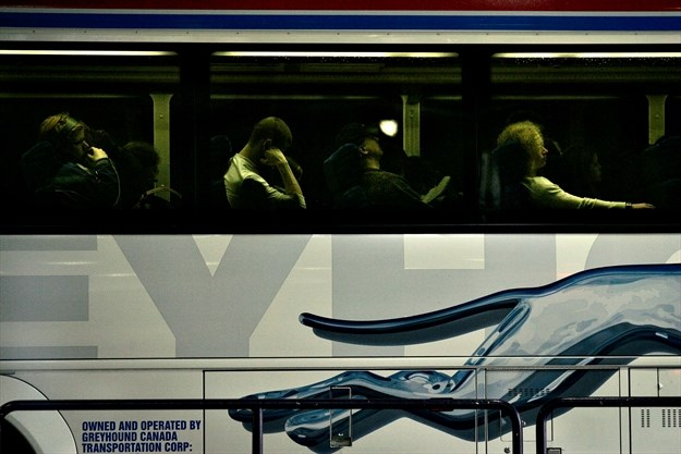 Greyhound offers daily routes from Pearson airport to