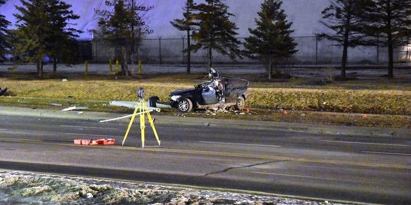 'Died in hospital': Single-car crash leaves Brampton man, 23, dead