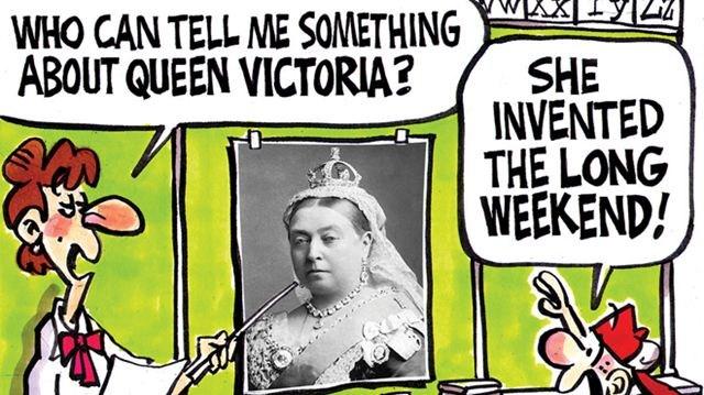 Image result for queen victoria canada cartoons