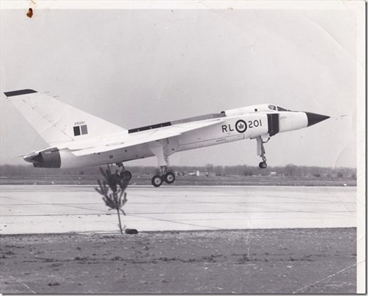 the famed avro arrow taking off at the malton ont airport in the late 1950s joanne van slingerland special