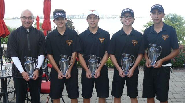 Corpus Christiu0027s Boys Top Burlington Golf Team