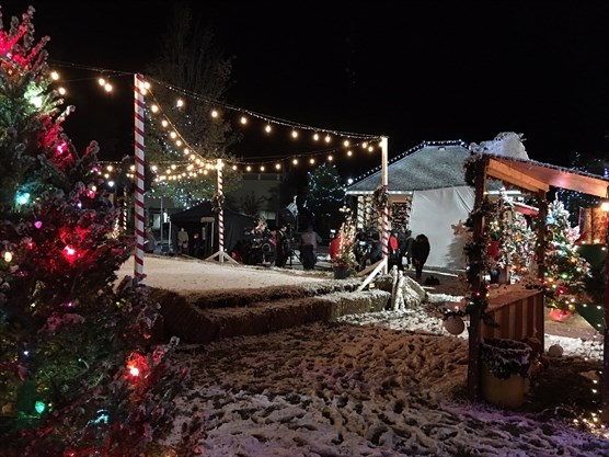 Christmas At Grand Valley.Update Movie Filmed In Bracebridge Not Yet On The Schedule