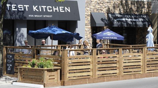 Restaurant patio fence  Burlington looks to expand pop-up patio program downtown ...