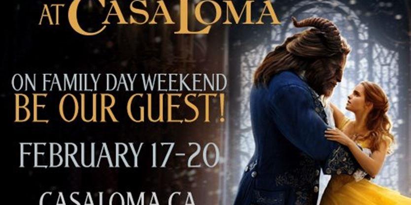 Disneys Beauty And The Beast At Casa Loma