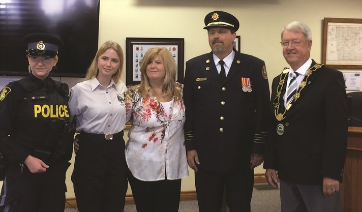 Deputy Fire Chief honoured