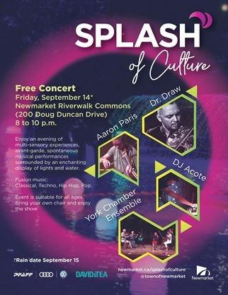 Splash Of Culture Newmarket On September 14 2018