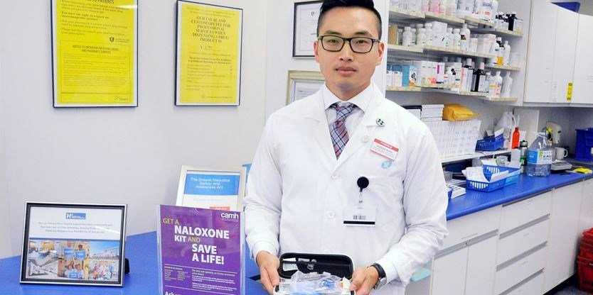 Toronto pharmacies offer kits that reverse effects of opioid