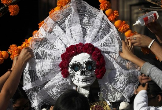 mexico day of dead preparations