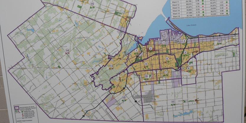 Hamilton's ward boundary