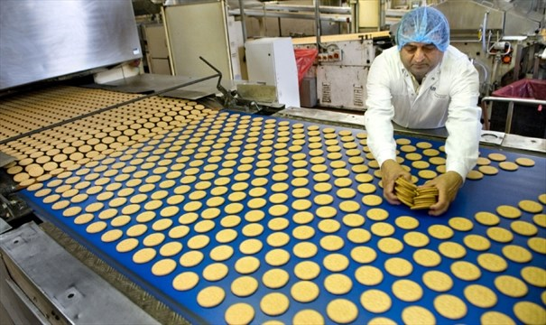 how to make biscuits in factory