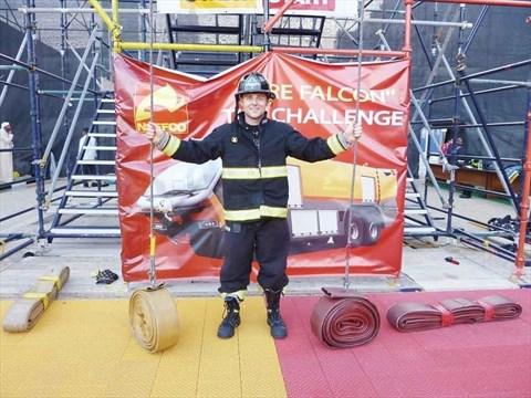Oakville firefighter takes on the heat in Dubai | InsideHalton com