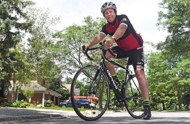 markham cyclist shares painful story of depression
