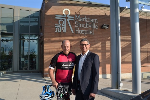 Markham Cyclist Shares Painful Story Of Depression -6277