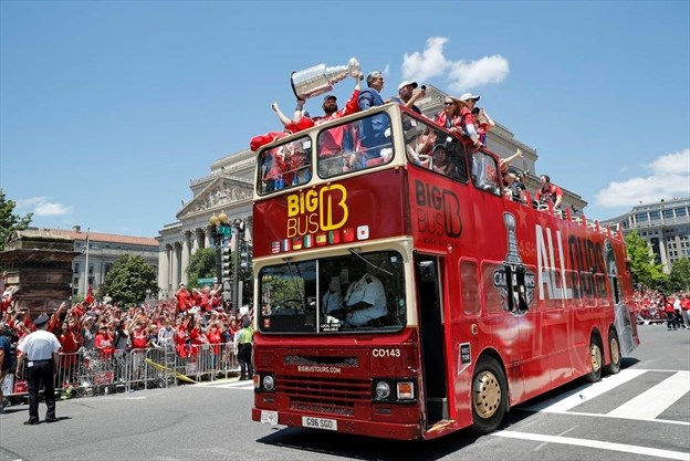 56c2fe92bbb Capitals  Stanley Cup parade is a mass gathering for the giddy ...