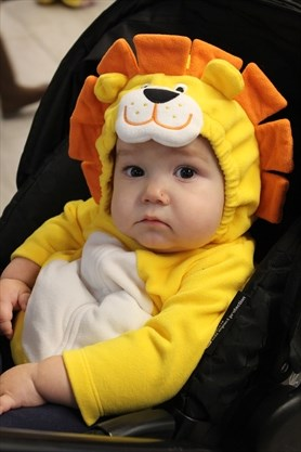 Little Lion at the Lakeshore Library during the Downtown Spooktacular Halloween event in Alcona, Ont. back in October 2017.