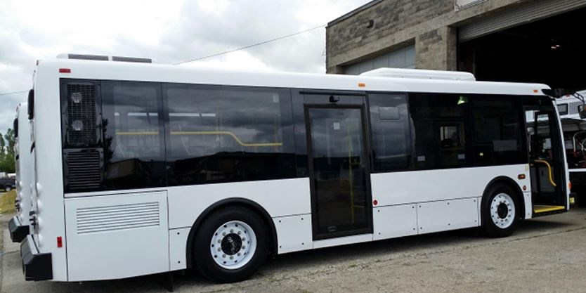 The County Of Simcoe Has Ordered Four  Foot Long Buses To Provide Services From Penetanguishene Midland To Georgian College And Rvh
