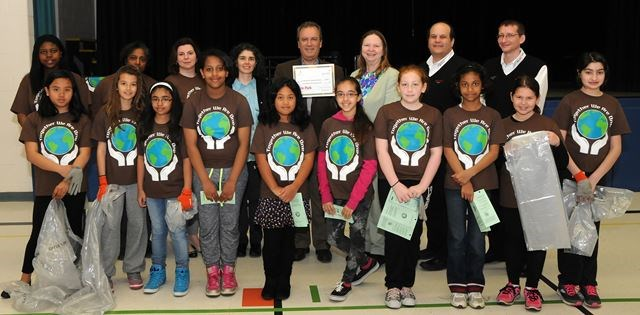 Erin Park Toyota >> St. Bernadette welcomes all-day kindergarten with new tree, thanks to Evergreen grant ...