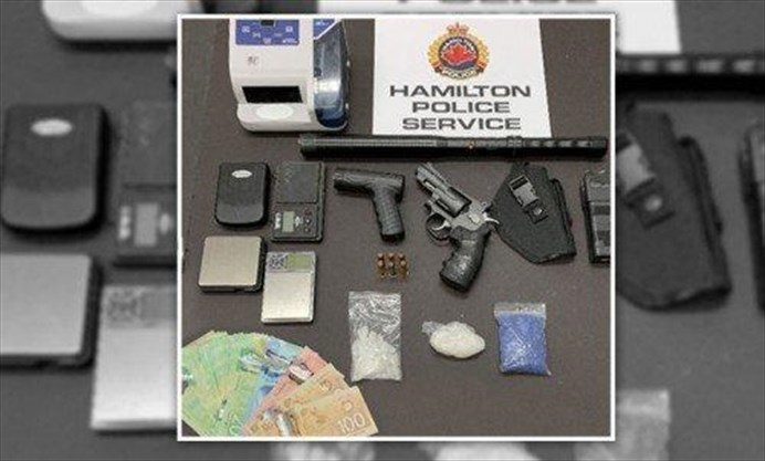 Hamilton police task force find 'blue meth' and 'popcorn