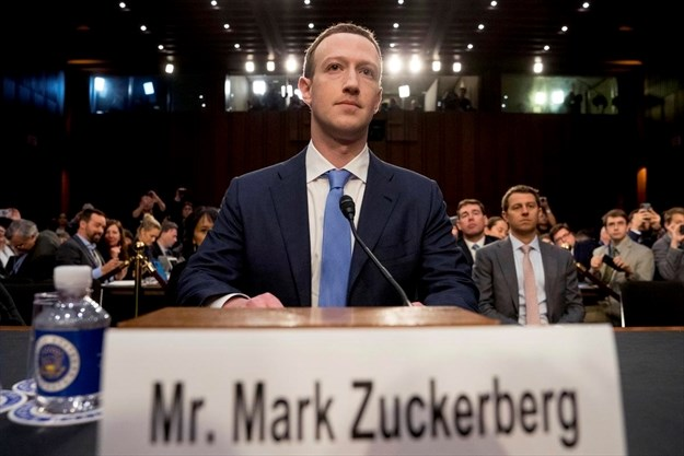 Facebook Ceo Mark Zuckerberg Arrives To Testify Before A Joint Hearing Of The Commerce And Judiciary Committees On Capitol Hill In Washington Tuesday About