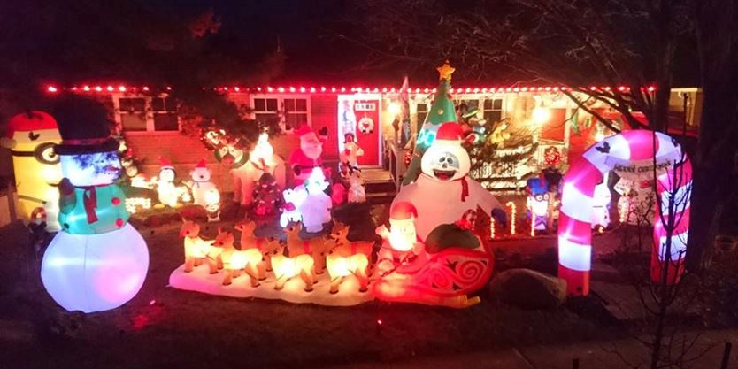 Griswold Christmas Lights.Know Of Any Christmas Lights That Rival Those Of Clark Griswold