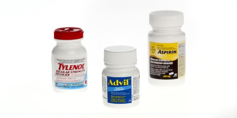 advil tylenol and other over the counter painkillers come with