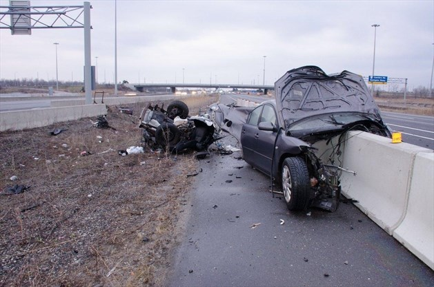 Catastrophic' wrong-way collision kills man, 29, on Hwy  403