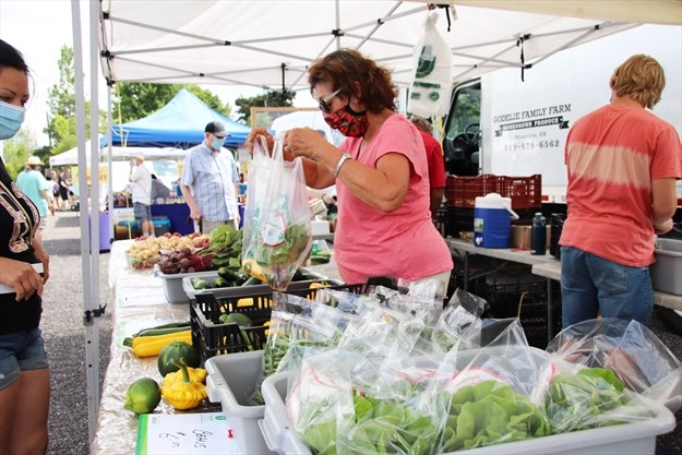 What's going on here?: New farmers market on Lakeshore ...