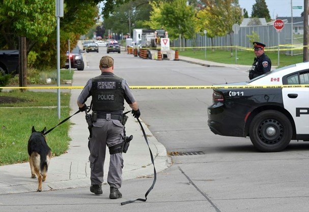Boy, 14, stabbed to death in front of his mother outside Hamilton school - TheSpec.com