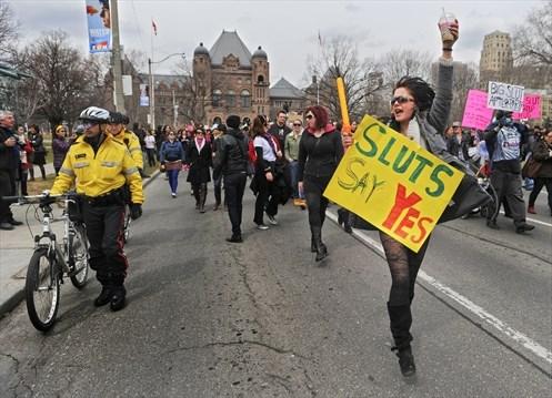 Photos walk Toronto slut