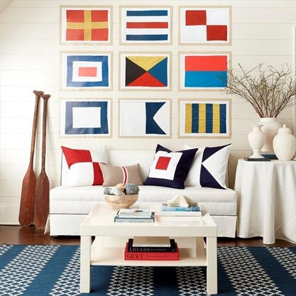 Nautical home decor is updated with punchy colours and ... on blue home designs, americana home designs, 2015 home designs, coastal home designs, unusual home designs, winter home designs, nigerian home designs, stylish eve home designs, black home designs, retro home designs, geometric home designs, salmagundi designs, construction home designs, jungle home designs, affordable home designs, antique home designs, top home bar designs, disney home designs, ocean home designs, love home designs,
