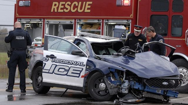 Car Crash Cambridge Ontario