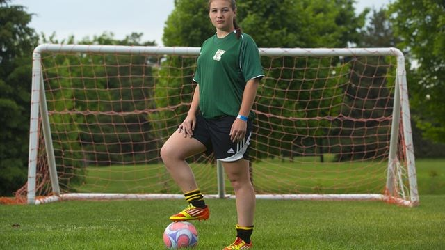 Female soccer player speaks out about controversial game against