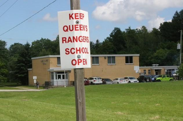 Saying farewell to Queen's Rangers Elementary School in
