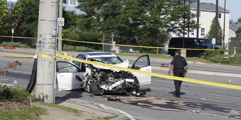 """""""It's mayhem': 1 dead, several injured in violent crash and"""