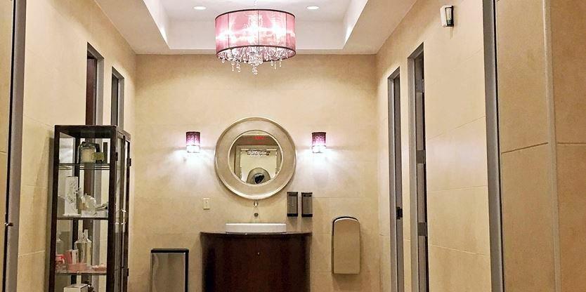 North york 39 s bayview village a finalist in best bathroom for Village bathroom photos