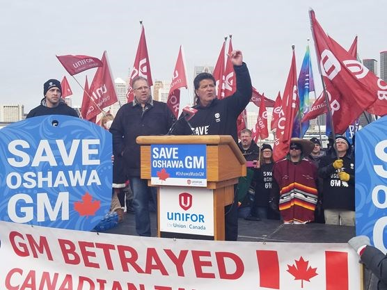 Opinion | GM stocks rise as Ontario unions rally against the